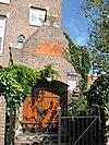 foto van Sint-Rosaschool, onderdeel van Sint-Rosaklooster, voormalige huishoudschool, traditionalistische bouwstijl