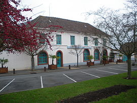 The town hall of Haillicourt