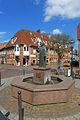 Halepaghen-Brunnen in Buxtehude, Totale.JPG