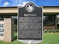 Hallettsville TX Library Marker.jpg