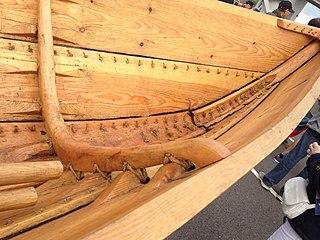Sewn boat