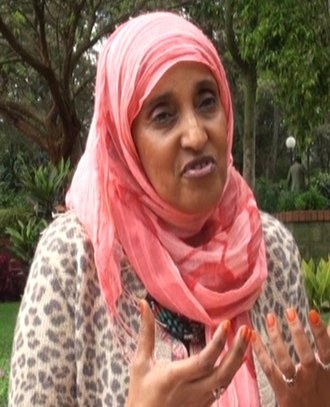 Human rights in Somalia - Chairperson of the Barnet Muslim Women's Network Hanan Ibrahim addressing the ISSAT (2013).