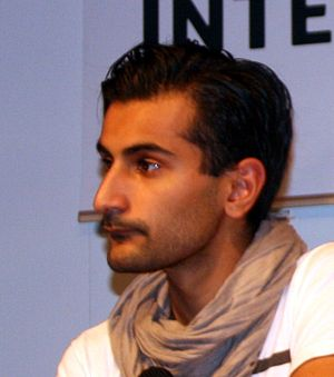 Hanif Bali, at Göteborg Book Fair. Svenska: Ha...