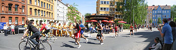English: Marathon race in Hannover Deutsch: Ma...