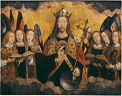 Hans Memling: Christ with Singing Angels