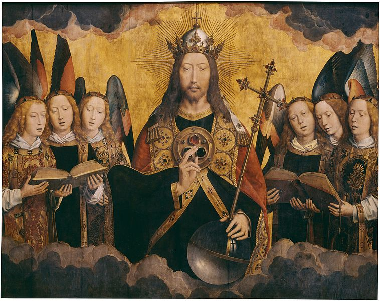File:Hans Memling - Christ with Singing Angels - KMSKA 778.jpg