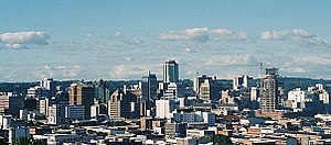 Harare - Skyline of Harare