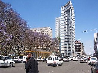 Harare - Image: Harare secondst