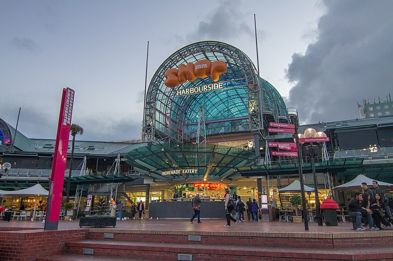 Harbourside shopping centre, Sydney.jpg