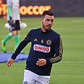 Haris Medunjanin warming up.jpg