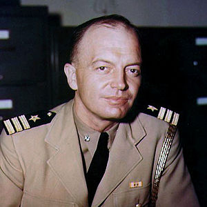 Harold Stassen - Commander Harold E. Stassen, USNR while serving as Aide to Admiral William F. Halsey, Commander, Third Fleet