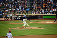 513b113922b Harvey pitching in the 2013 Major League Baseball All-Star Game