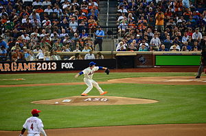 Matt Harvey - Harvey pitching in the 2013 Major League Baseball All-Star Game