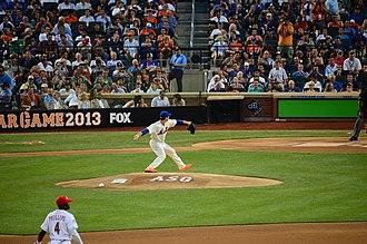 Matt Harvey - Harvey pitching in the 2013 Major League Baseball All-Star Game