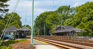 Haverford station - Haverford station