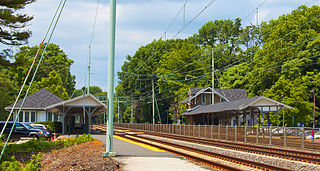 Haverford station SEPTA Regional Rail station