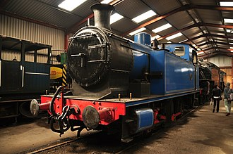 Andrew Barclay Sons & Co. - 1245 represents the 0-6-0 side tank locomotives built by Andrew Barclay.