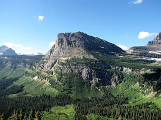 Heavy Runner Mountain mountain in Glacier County, Montana, United States of America