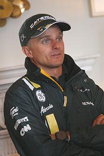 Heikki Kovalainen Finnish racecar driver