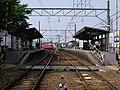 Hekikai-Sakurai Station platform.jpg