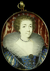 Portrait of Henriëtte Maria (1609-1669), wife of Charles I of England