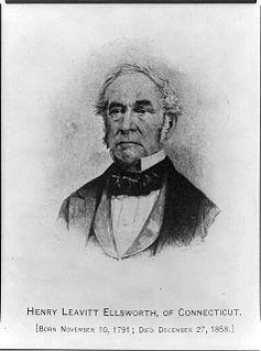 Henry Leavitt Ellsworth American businessman