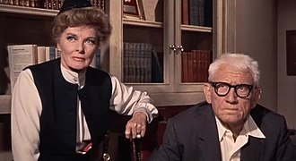 Guess Who's Coming to Dinner - Katharine Hepburn and Spencer Tracy as Christina and Matt Drayton