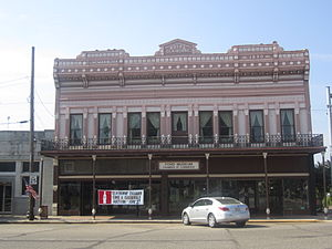 Homer, Louisiana - The Herbert S. Ford Memorial Museum and the Homer Chamber of Commerce jointly occupy the building of the former Claiborne Hotel building.
