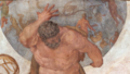 Hercules holding the world (detail) - Camerino Farnese (1934).png