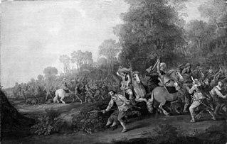Skirmish between Horsemen and Foot-Soldiers