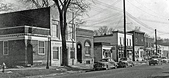 Worthington, Ohio - High Street in 1948