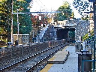 Highland station (SEPTA) rail station in Philadelphia, Pennsylvania, United States