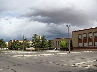 Highland High School (Albuquerque, New Mexico) - Image: Highland High School, Albuquerque NM
