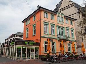 Hilden - Image: Hilden, café in Mittelstrasse foto 3 2014 03 30 15.38