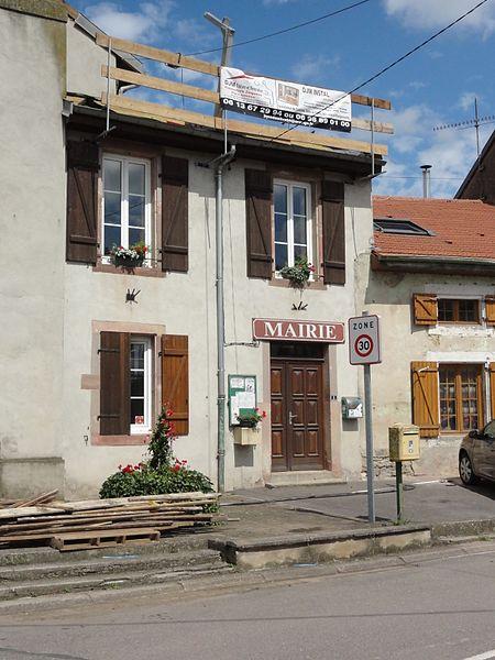 Hoéville (M-et-M) mairie
