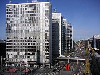 Hötorget buildings tower block