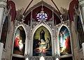 Holy Cross-Immaculata Church (Cincinnati, Ohio) - triptych murals by Johann Schmitt.jpg