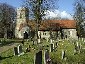 Takeley - Image: Holy Trinity Church geograph.org.uk 1191209