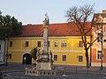 Holy Trinity Column and Roman Catholic parish, 2016 Szekszard.jpg