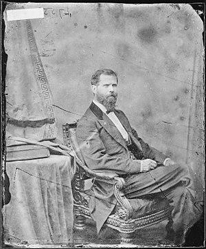 United States House of Representatives elections, 1866 - Image: Hon. Samuel S. Marshall, Ill NARA 527219