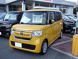 Honda N-BOX G・EX Honda SENSING (DBA-JF3) front
