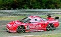 Honda NSX - Armin Hahne, Christophe Bouchut & Bertrand Gachot approaches Arnage at the 1994 Le Mans (31596686590).jpg