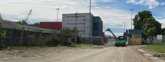 Point Cruz - Customs area, Honiara Port