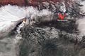 Hot spots on Iceland's Eyjafjallajökull Volcano 04-19-2011.png