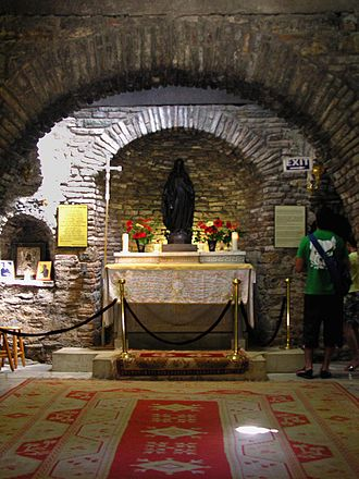 House of the Virgin Mary - The Interior of the house.