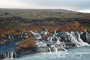 Reykholt, Western Iceland - Hraunfossar