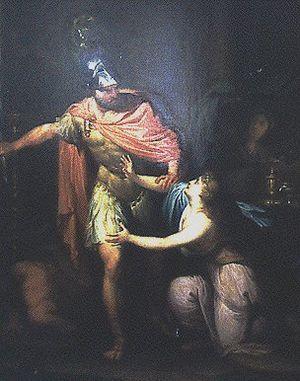 Hubert Maurer - Hubert Maurer, Circe and Odysseus, Kunsthistorisches Museum, 1785