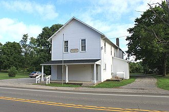 Hudson Township, Lenawee County, Michigan - Hudson Township Hall, Carleton Rd.