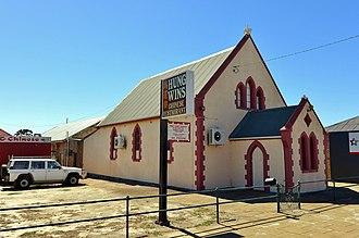 Katanning, Western Australia - Hung Wins Restaurant (formerly a Baptist Church), Katanning
