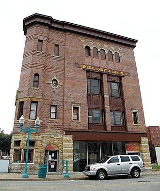 Carnegie, Pennsylvania - Image: Husler Building